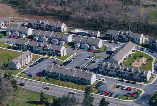 Aerial of Mill Creek Manor Associates, LP
